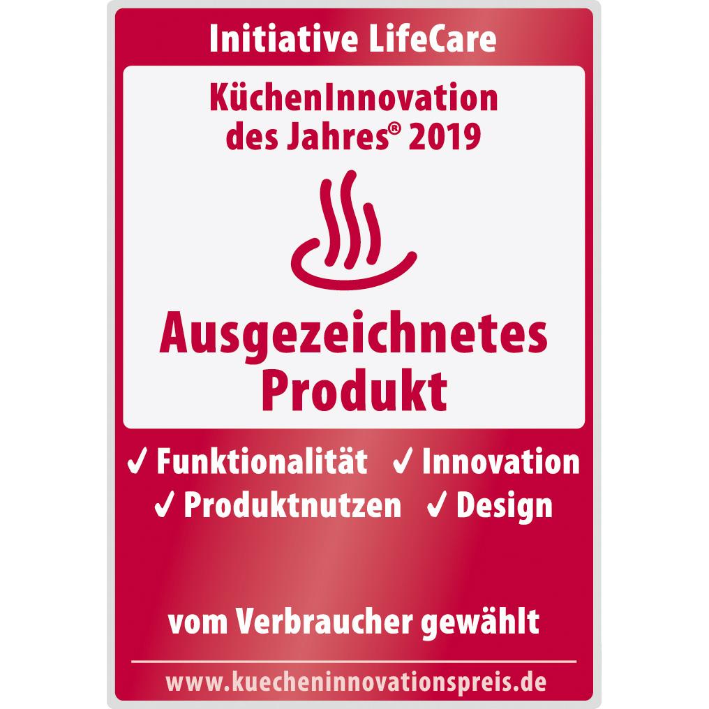 Award Küchen Innovationen 2019 MiniSlice-Aufsatz