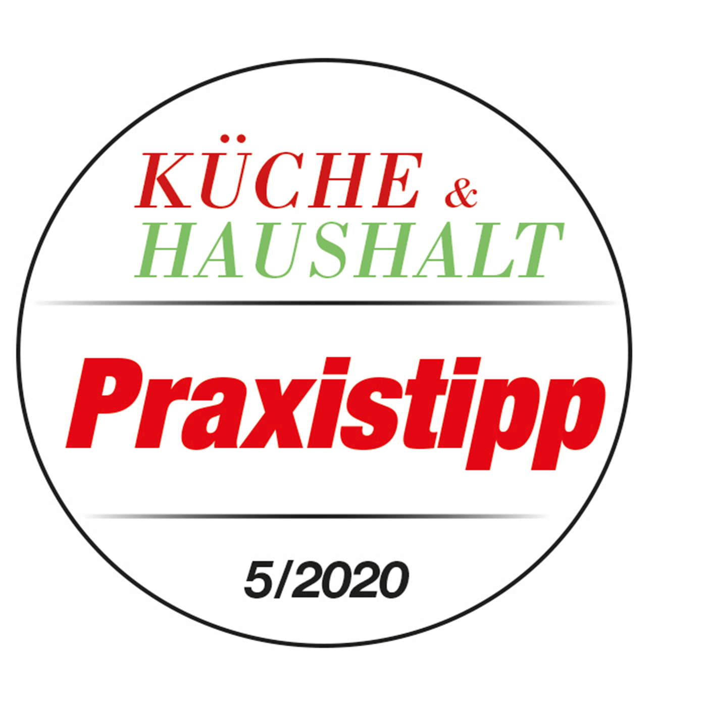 Graef Mini-Dörrautomat DA2042EU Kueche&Haushalt_05-2020-Praxistipp_Testlogo