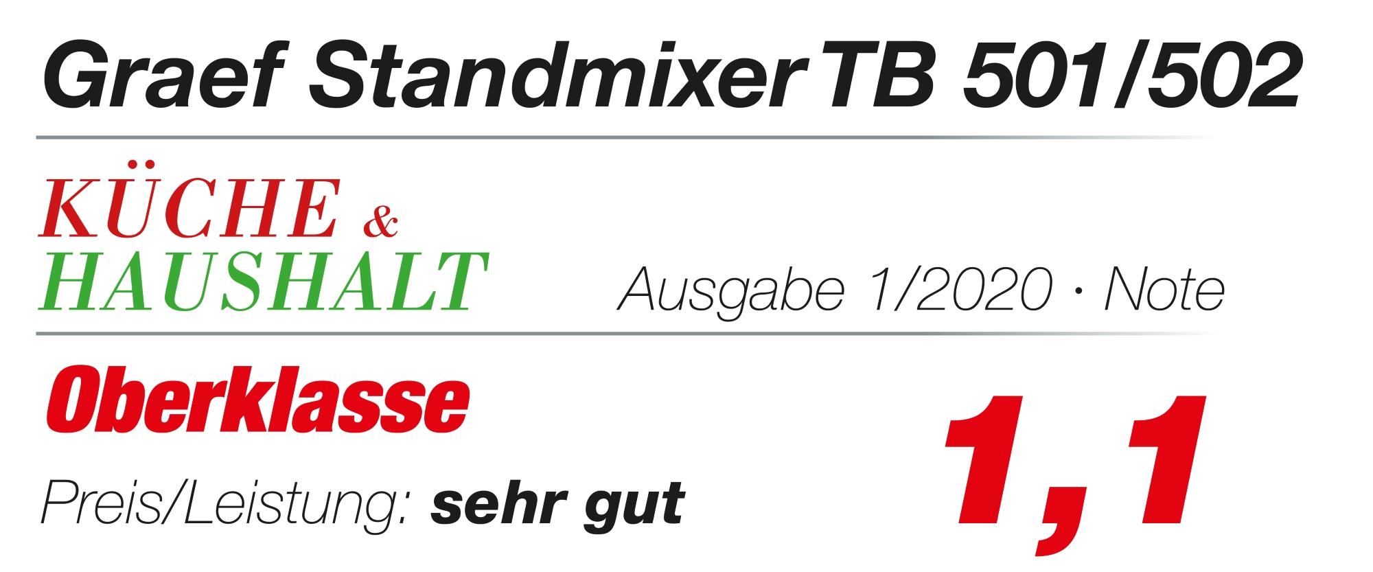 Testlogo Küche & Haushalt 1/20 TB500