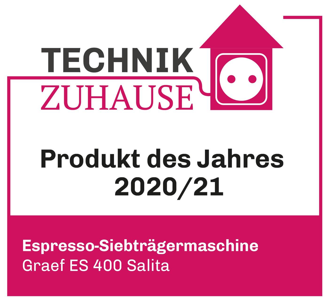 Technik Zuhause - Produkt des Jahres 2020/2021