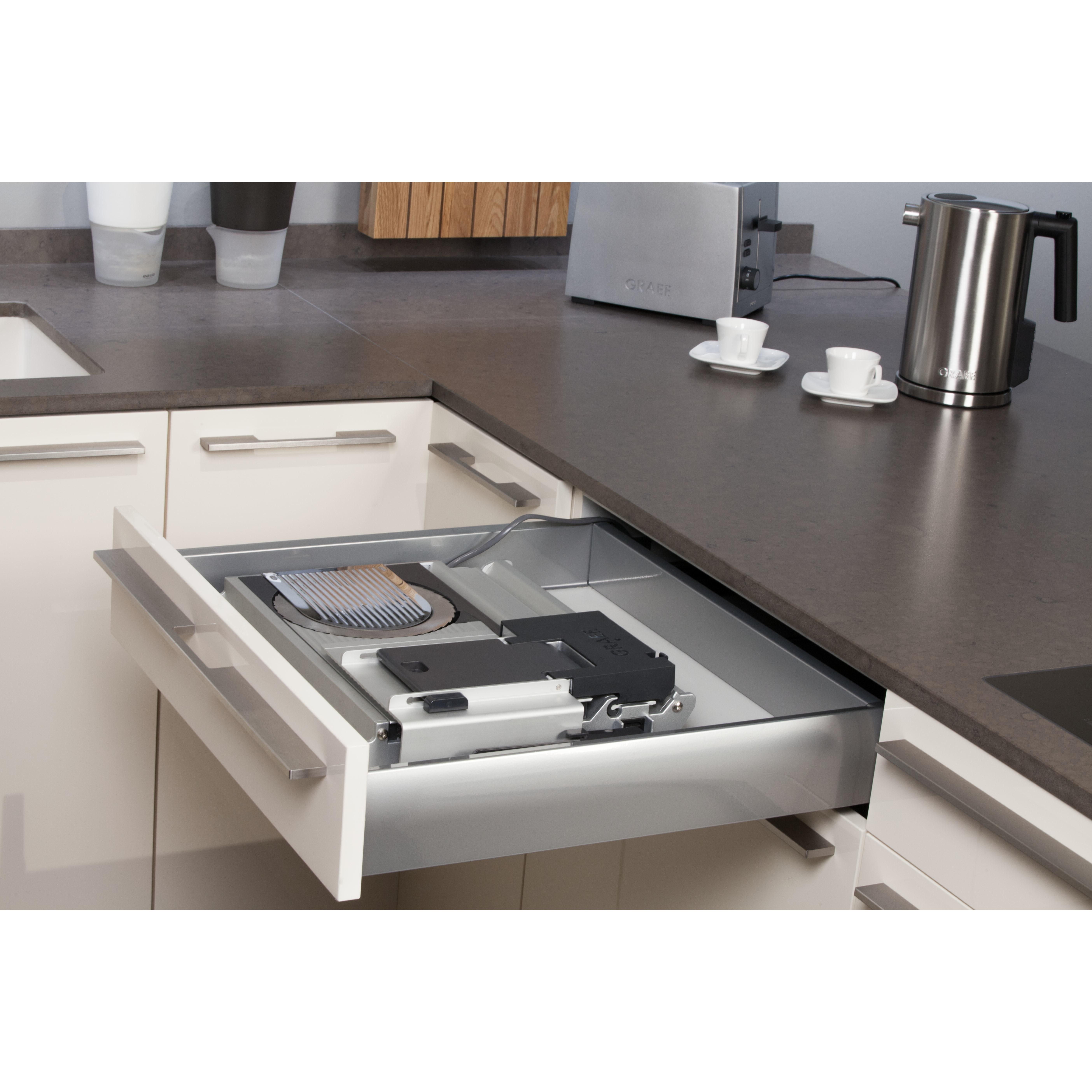 schubladen k che einstellen k che zwei zeilen ikea. Black Bedroom Furniture Sets. Home Design Ideas