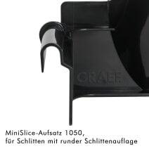 MiniSlice-Aufsatz 1050, runde Schlittenauflage Hauchzartes Tuning für deinen Allesschneider
