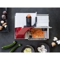 Mini-Slice Aufsatz für Graef Allesschneider Mit runder Schlittenauflage, z.B. für SKS900 & M80