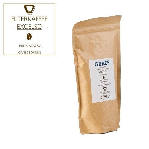 Filterkaffee EXCELSO, 250 g ganze Bohne (100 % Arabica)