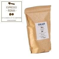 Espresso ROMA, 500g ganze Bohne (43% Arabica, 57% Robusta)