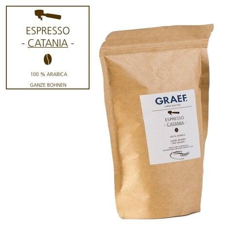Espresso CATANIA, 500 g ganze Bohne (100 % Arabica)