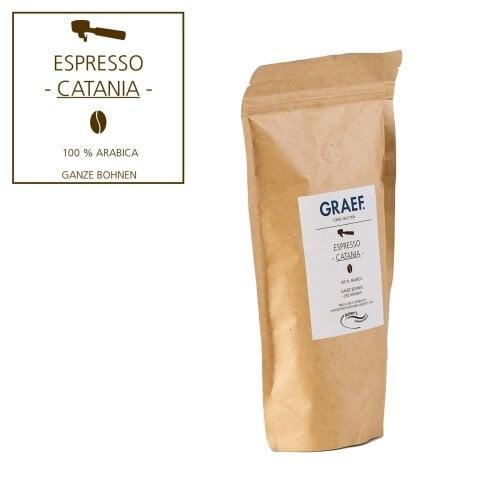 Espresso CATANIA, 250 g ganze Bohne (100 % Arabica)