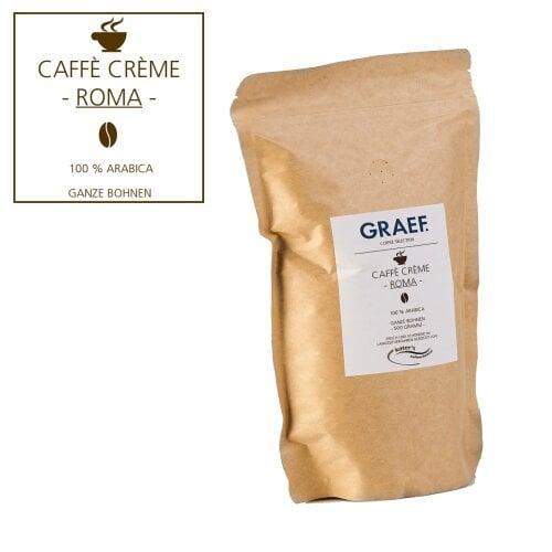 Caffè Crème ROMA, 500g whole bean (100% Arabica)