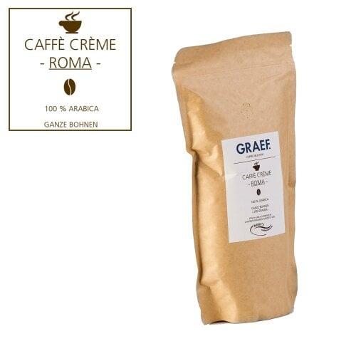 Caffè Crème ROMA, 250 g ganze Bohne (100 % Arabica)