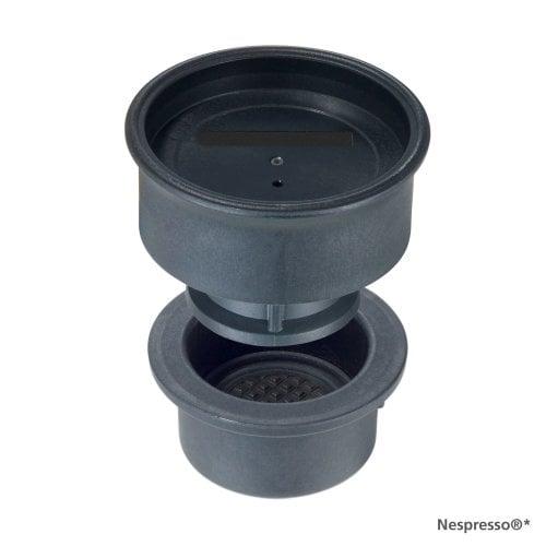 Kapseleinsatz für Nespresso®* Kapseln Siebträger pivalla