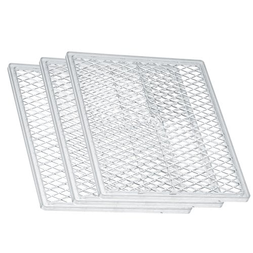 Plastic tray set (3 pcs.) For dehydrator DA 506, DA 508, DA 510