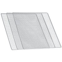 Stainless steel tray set (3 pcs.) For dehydrator DA 506, DA 508, DA 510