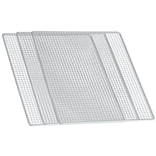 Stainless steel tray set (3 pcs.) For dehydrator