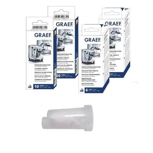 Reinigungsset für Graef Espressomaschinen Inklusive Wasserfilterkartusche