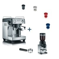 Espresso machine baronessa ES 902 MEGASET with 6 free items