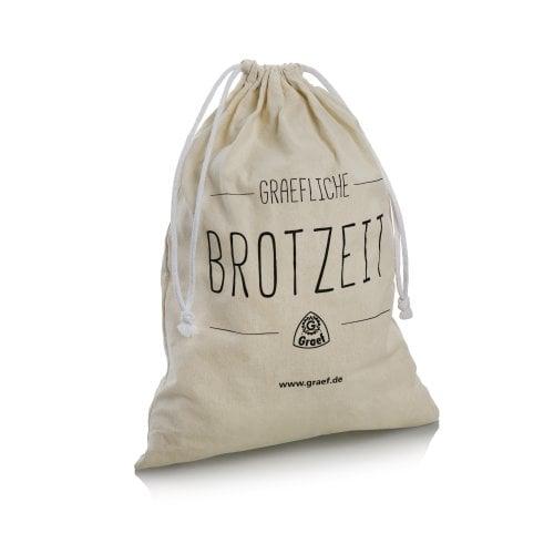 Graef Brotbeutel Brotzeit Baumwolle, Kordelzugbeutel