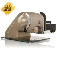 Slicer GRAEF100PLUS, champagne-gold incl. MiniSlice attachment & many more