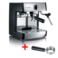 Espresso machine pivalla The filter holder for classic espresso, coffee pads and capsules!