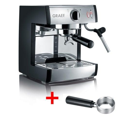Siebträger-Espressomaschine pivalla inkl. Kapselsystemhalter Für klassischen Espresso, Kaffee-Pads und Kapseln!