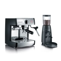 Espresso machine pivalla SET with coffee grinder CM702