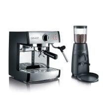 Espressomaschine pivalla SET mit Kaffeemühle CM702