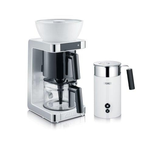 Set Filterkaffeemaschine & Milchschäumer FK701EU und MS701EU