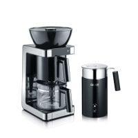 Set Filterkaffeemaschine & Milchschäumer FK702EU und MS702EU