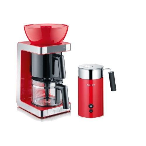 Set Filterkaffeemaschine & Milchschäumer FK703 EU und MS703 EU