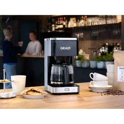 Filter coffee machine FK402 Glass jug & large brew head