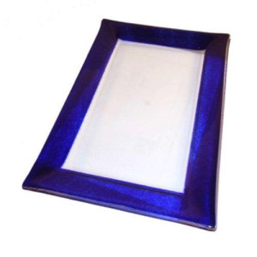 Glas Tablett