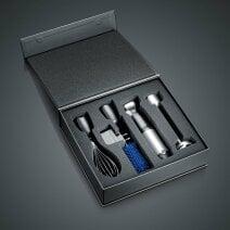 Akku-Stabmixer HB802 inkl. 4-teiligem Zubehör-Set & Aufbewahrungsbox