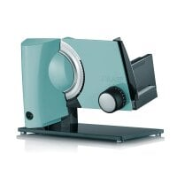 Slicer MultiCut Plus, pastel turquoise incl. MiniSlice attachment & bread bag