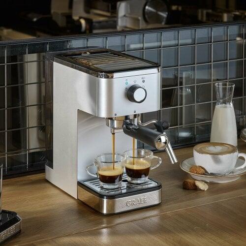 Espressomaschine salita Schmal & kompakt zum Espressogenuss