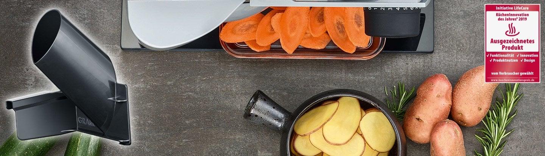 Der MiniSlice-Aufsatz von Graef - Vom Allesschneider zur Küchenmaschine