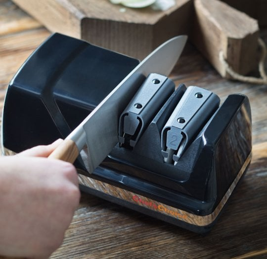 Blade sharpener - The finishing touch in the kitchen