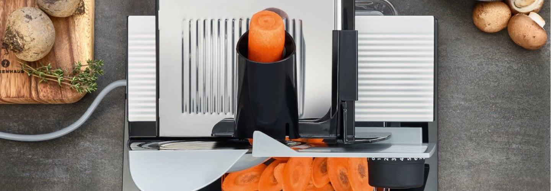 Der Mini Slice Aufsatz - Gratis zum Allesschneider Vivo 10