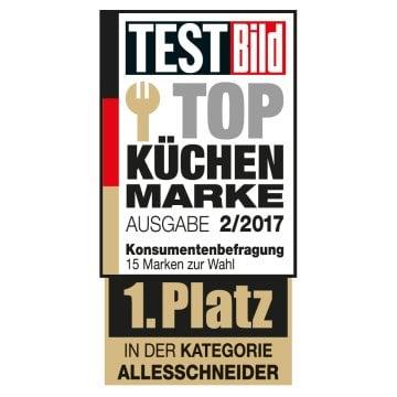 """- Graef ist """"Top Küchen Marke 2017"""""""