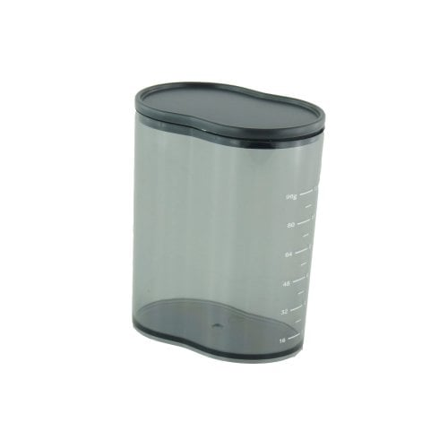 Coffee powder container with dust lid