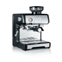 Espresso machine milegra with integrated coffee grinder