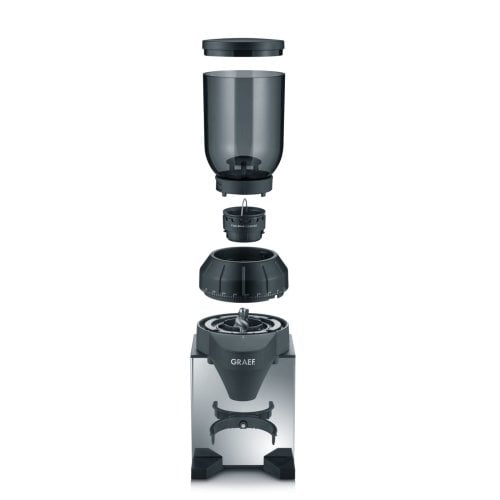 Coffee grinder CM820 with stainless steel housing