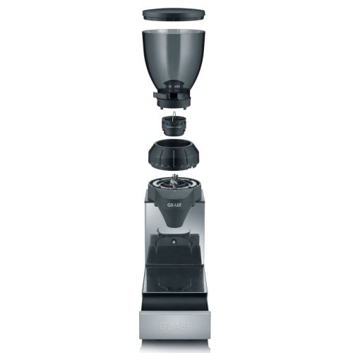Coffee grinder CM 850 with integrated drawer-knock-box