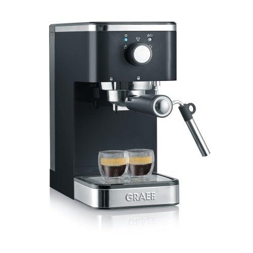 Espresso machine salita black Great in small format!