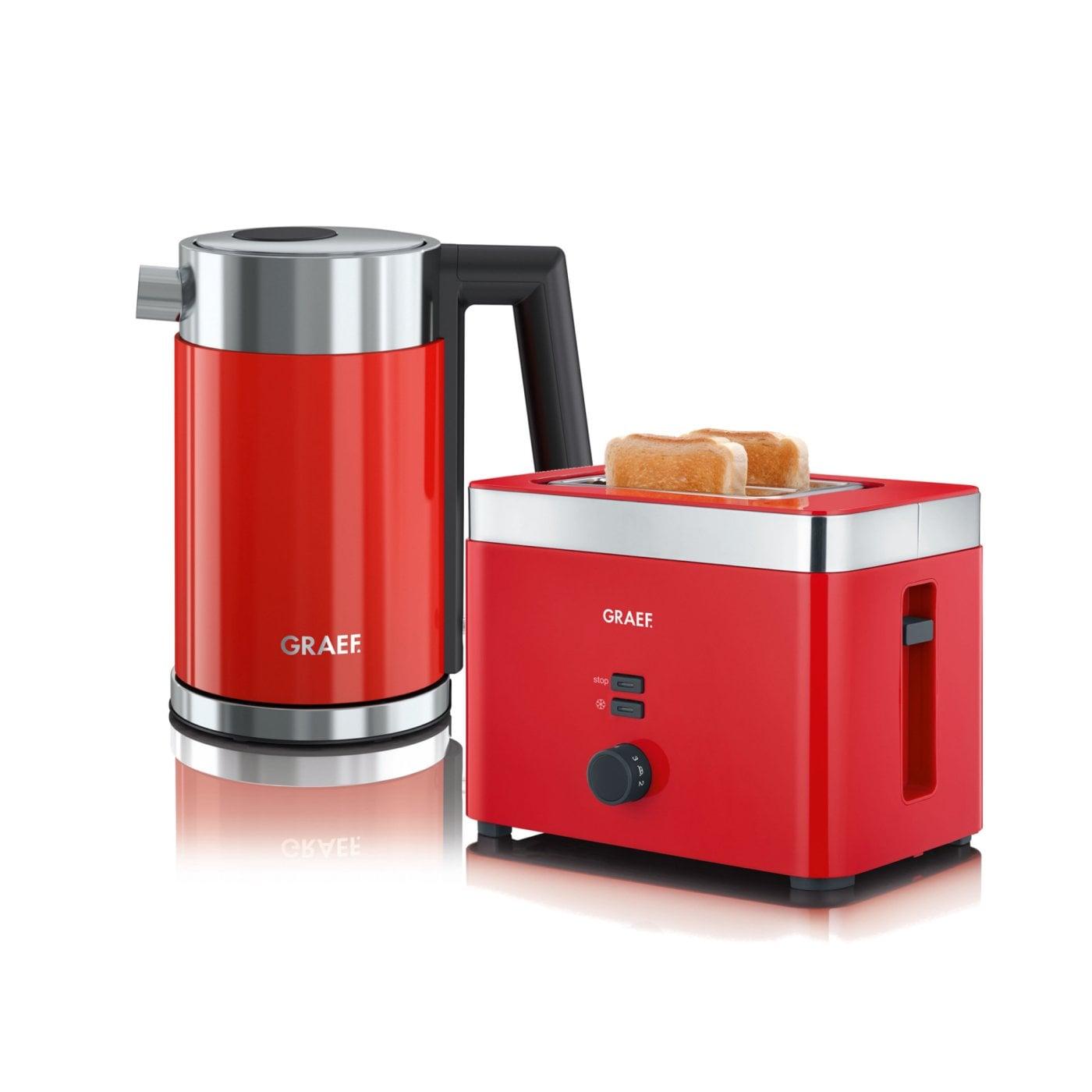 set wasserkocher toaster wk403eu und to63eu graef. Black Bedroom Furniture Sets. Home Design Ideas
