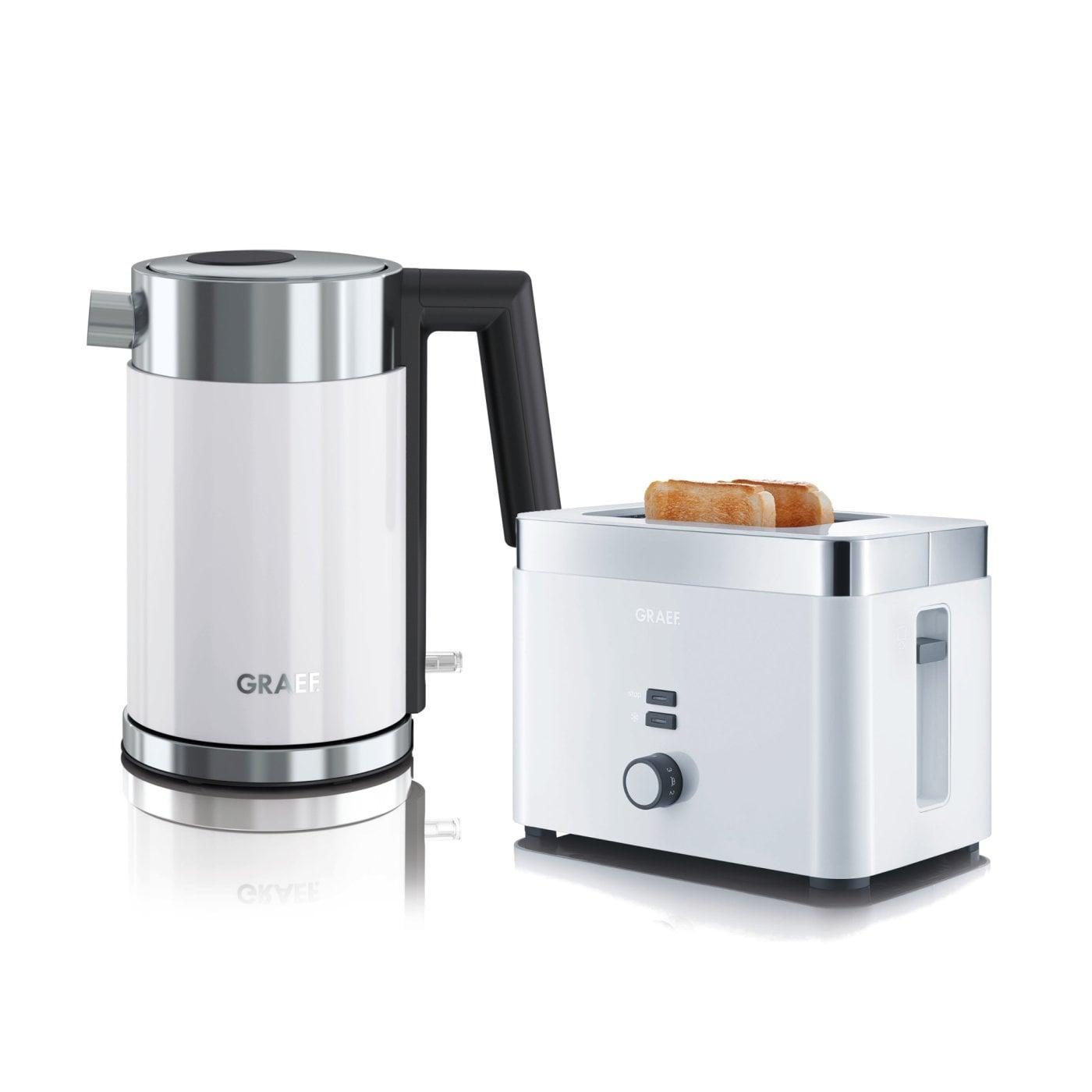 set wasserkocher toaster wk401eu und to61eu graef. Black Bedroom Furniture Sets. Home Design Ideas