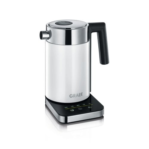 Stainless steel electric kettle WK501 1,0 litre, with temperature settings