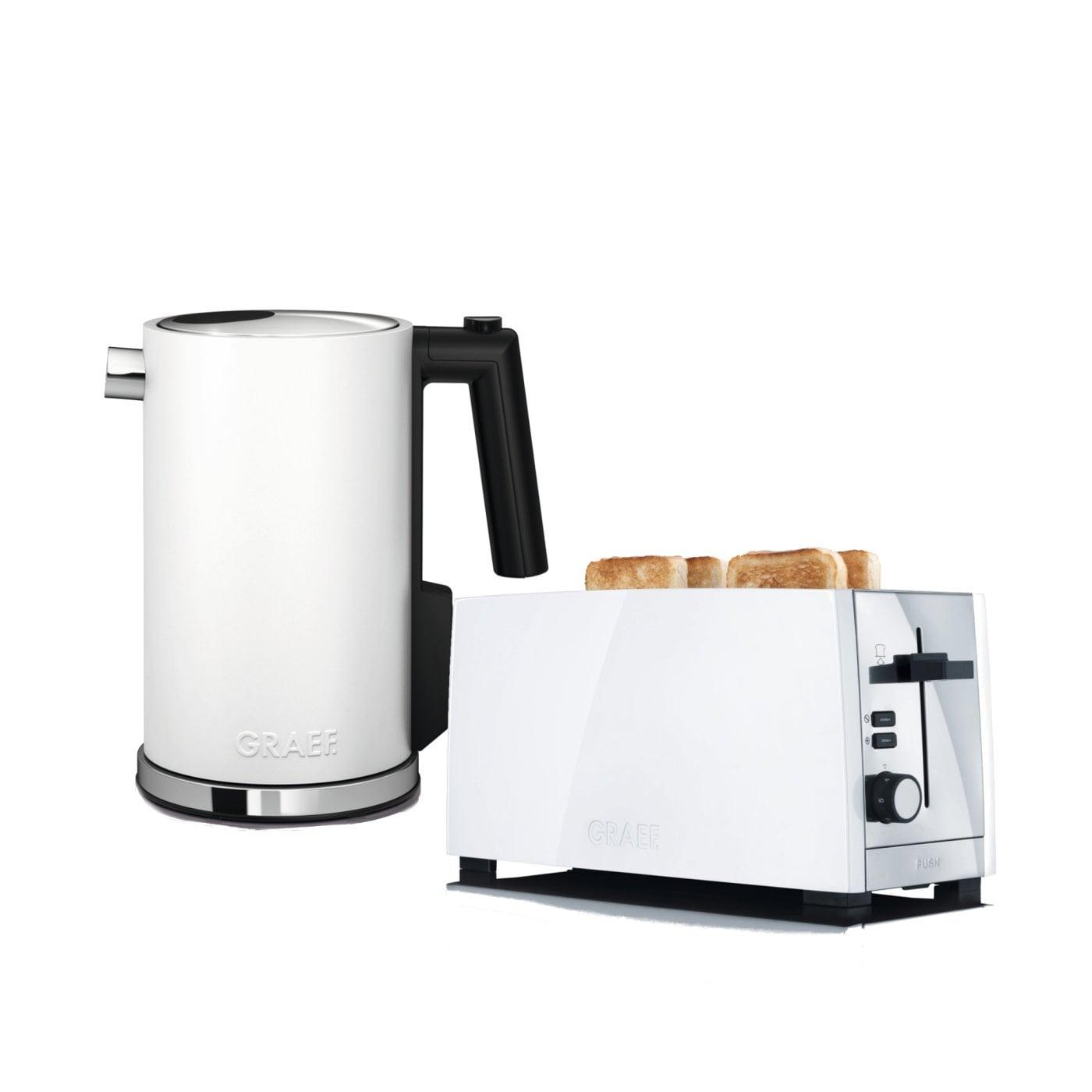 set wasserkocher toaster wk901eu und to101eu graef. Black Bedroom Furniture Sets. Home Design Ideas